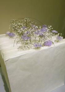 和紙の花器