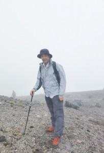乗鞍岳登山途中