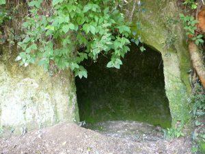 西郷の洞窟